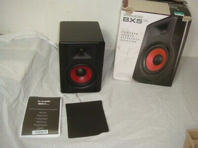 M-Audio BX5 D3 CRIMSON 2-WAY STUDIO MONITOR AS-IS FOR PARTS/REPAIR -READ! for sale  Shipping to Nigeria