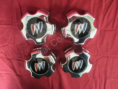 NOS Set of 4 Buick Century Styled Wheel Center Cap with Emblem 1986 - 91