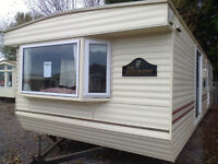 Static caravan 35 x 12 ft / 2 bedrooms double glazing, central heating, Willerby Manor