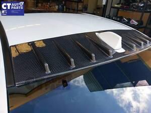 Glossy Carbon Roof Spoiler Vortex Generator  MY15 Subaru WRX STI Wetherill Park Fairfield Area Preview