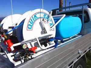 QUIK SPRAY Twin Reel Spray System with 400 Litre tank Warana Maroochydore Area Preview