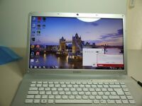 "Sony Vaio Laptop 15.4"" Windows 7. i3"
