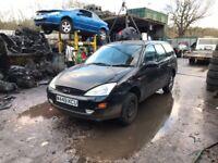 2000 Ford Focus Zetec Estate 1.8L Petrol Black BREAKING FOR SPARES