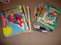 SUPERMAN- SEE DESCRIPTION FOR ISSUE NUMBERS