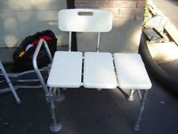 INVACARE TUB CHAIR  FOR ELDERLY/SPECIAL NEEDS