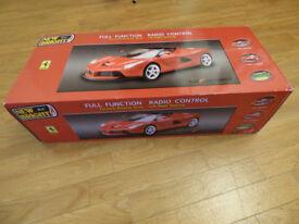 New in box Bright Radio Controlled La Ferrari scale 1:8. Birthday gift...