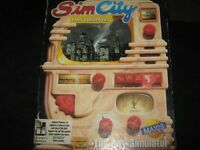 Vintage SimCity PC Game (1991) Maxi Simulator-Complete!