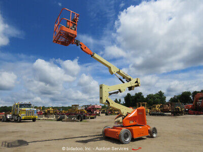 2011 Jlg E400an 40 Electric Articulating Boom Lift Man Aerial Platform Bidadoo