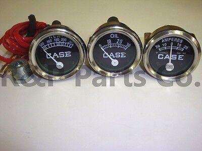 Temperature Oil Pressure Amp Gauge Set For Case Va Vah Vai Vao V Vc Vi Vo 200b