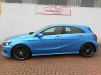 MERCEDES A CLASS A180 CDI BLUEEFFICIENCY AMG SPORT (blue) 2013