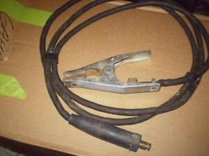 Welding ground clamp with cable Edmonton Edmonton Area image 1