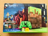 Xbox One S Minecraft Edition 1TB Console