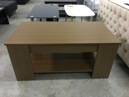 Brand New Maple MDF/Chipboard Coffee Table