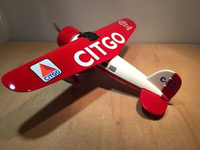 CITGO:  1932 VINTAGE LOCKHEED DIE CAST AIRPLANE by LIBERTY (35012)