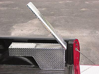 Truck Tool Box:Pork Chop, Wheel Well, Ex Tall, Rt or (Wheel Well Box)