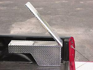 Truck Tool Box:Pork Chop, Wheel Well, Ex Tall, Rt or Lt