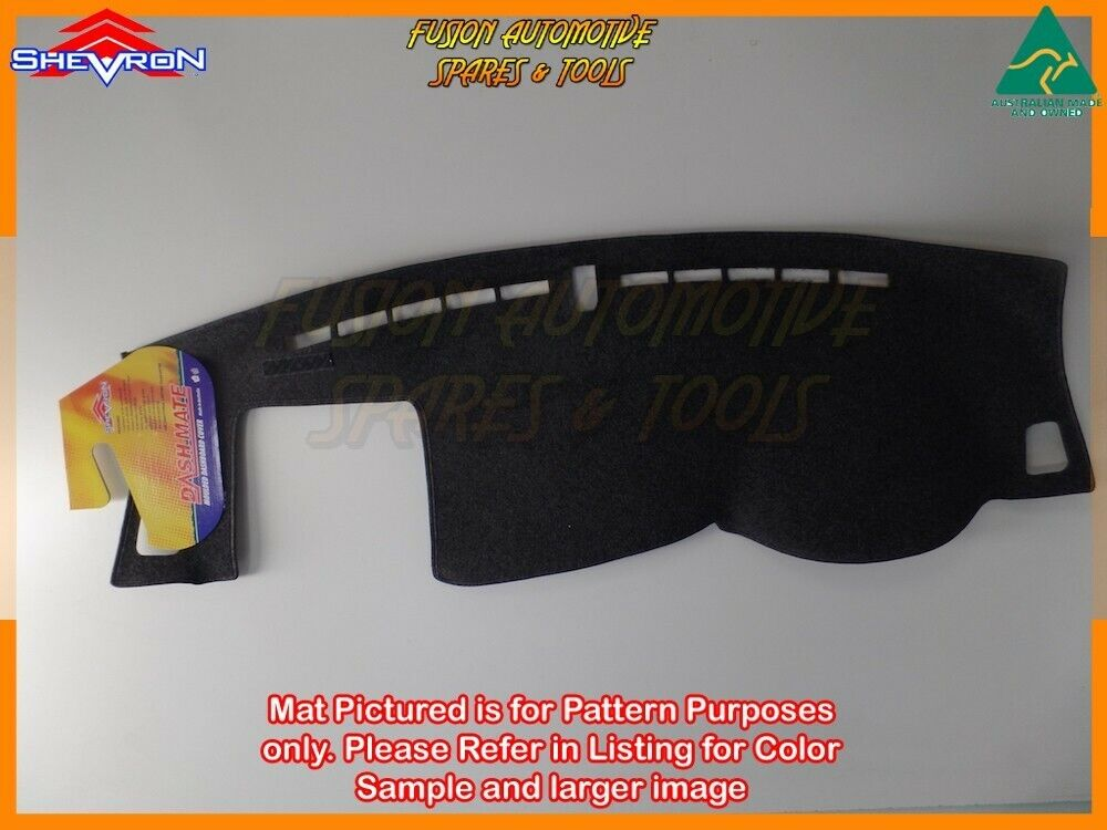Black Dashmat for KIA Sportage QL 4th Gen 10//2015 on Dash Mat DM1422