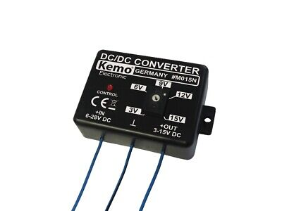 S158 - Spannungswandler 1,5A in 6V - 28V DC out 3V - 15V DC Kemo M015N