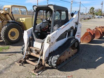 2014 Bobcat T590 Skid Steer Track Loader Crawler Aux Hyd Diesel -partsrepair