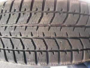 Blizzak winter tires P225/65/R17