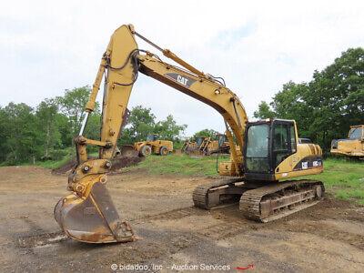 2005 Caterpillar 318c Ln Hydraulic Excavator Ac Cab Hyd Qc Diesel Bidadoo