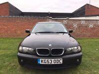 BMW 3 Series 1.8 316i SE 4dr 2003 (53 reg) Saloon 95,000 miles Manual 1796cc Petrol+One Year MOT+