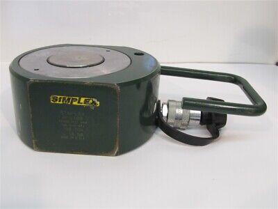 Simplex Rfs100 100 Ton Flat Jack Hydraulic Cylinder 0.63 Stroke