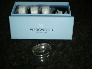 WEDGWOOD SILVER PLATED NAKIN RINGS