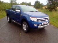 FORD RANGER LIMITED 4X4 DCB TDCI (blue) 2014