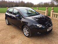 SEAT IBIZA 1.2 CR TDi Copa, FSH, Drives Perfect, £20 Tax (black) 2011