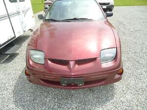 Parting out 2002 Pontiac Sun Fire
