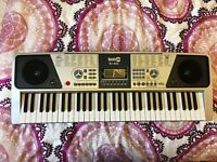 RockJam RJ-661 Electric Keyboard With Stand and Stool