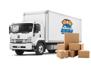 Heros movers starting @$65hr/2men/17ft call/txt902-449-9974