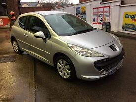 PEUGEOT 207 MPlay 1.4 (silver) 2008