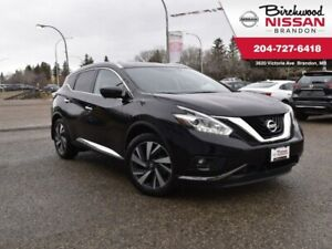2017 Nissan Murano Platinum Leather/AWD/360 cam/Heated Wheel