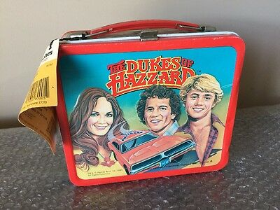 Aladdin 1980 VINTAGE DUKES OF HAZZARD LUNCHBOX & THERMOS w/TAG