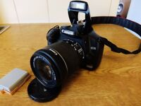 Canon 450D with Canon EFS 18-55mm STM IS Lens