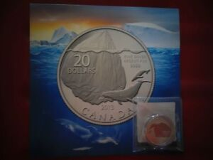 The Whale $20 Silver Coin from the Royal Canadian Mint