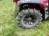 12 inch SS rims for Honda Foreman
