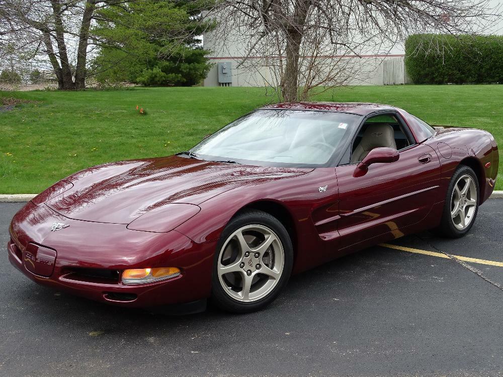 2003 Red Chevrolet Corvette     C5 Corvette Photo 6