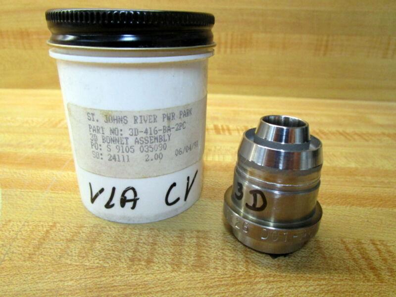 Part 3D-416-BA-2PC 3D Bonnet Assembly  Roper P2-C144 Gear Pump
