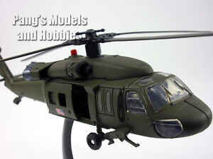 Sikorsky UH-60 Black Hawk (Blackhawk) 1/60 Scale Diecast Helicopter Model