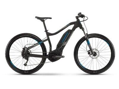 Haibike SDURO HardSeven 1.0 E-Bike 400Wh E-Mountainbike schwarz/grau/blau 2019