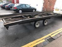 Brian James Trailer Car Transporter 3.5 Ton Twin Wheel - 750Kg unladen weight
