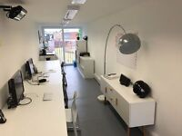 Shared office/ Desk Space available for one in this shipping container