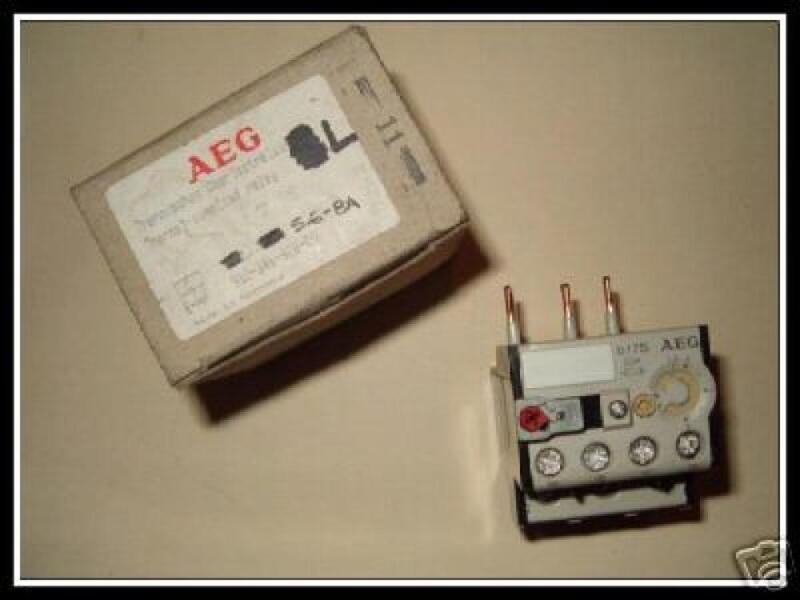 AEG Industrial Engineering 910-341-934-00 Overload Relay  91034193400