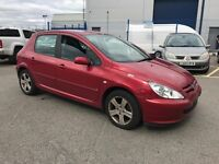 PEUGEOT 307 S HDI (red) 2005