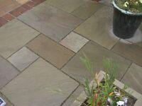 Indian stone paving £15.20 m2