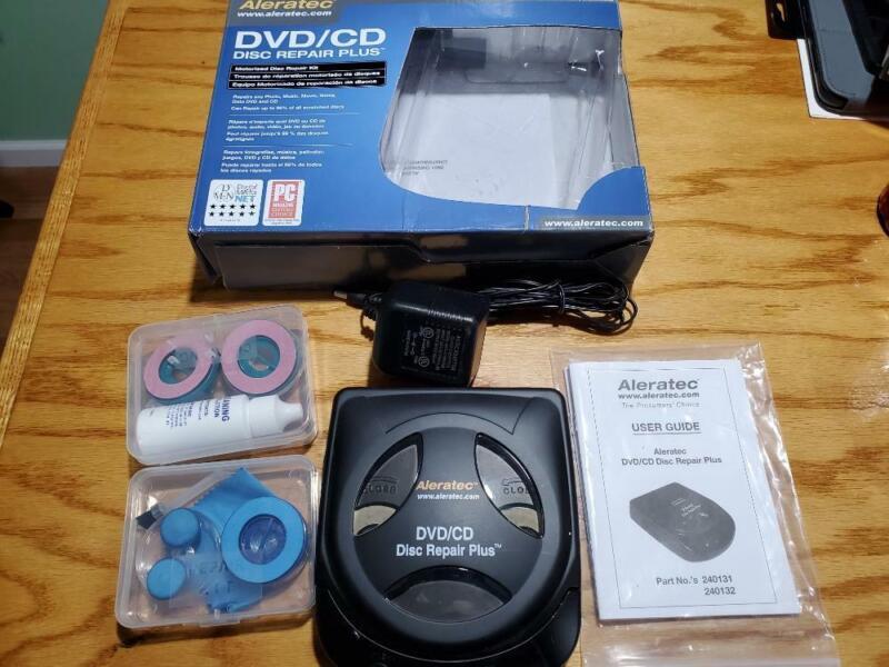 Aleratec 240131 DVD/CD Disc Repair Plus Kit Used Works great