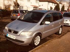 VAUXHALL ZAFIRA 1.6 BREEZE2005/05 HPI CLEAR 7 SEATER